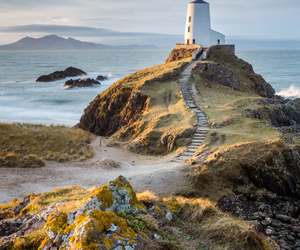 lighthouse and water image