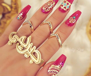cool, nails, and love it image