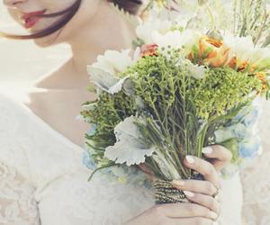 beautiful, bridal, and elegant image