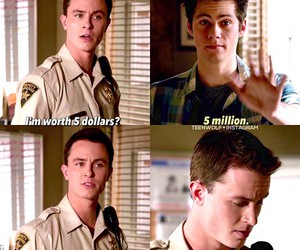 teen wolf, parrish, and stiles image