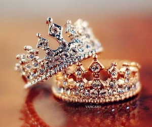 rings, ring, and crown image