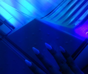neon, dope, and nails image