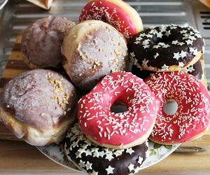 donuts, delicious, and food image