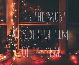 christmas, winter, and wonderful image