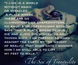 bookquote, theseaoftranquility, and katjamillay image