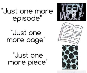 teen wolf, book, and sleep image