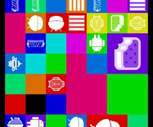android, sweets, and colorfull image