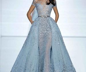 Zuhair Murad, blue, and dress image