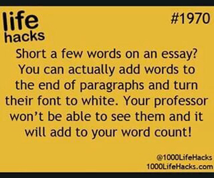 life hack, tips, and trick image