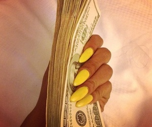 money and yelow image