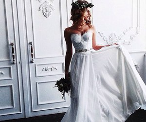 beutiful, model, and bride image