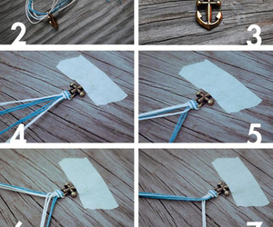 diy, bracelet, and anchor image