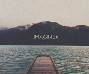 beatles, Dream, and imagine image