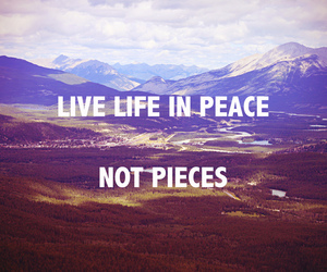live and peace image