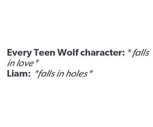 teen wolf and liam image