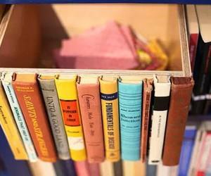 books, box, and diy image