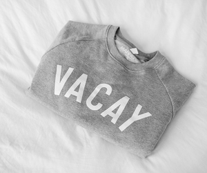 vacay, sweater, and clothes image