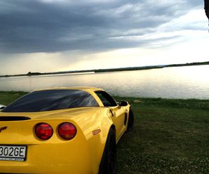 beauty, Corvette, and car image