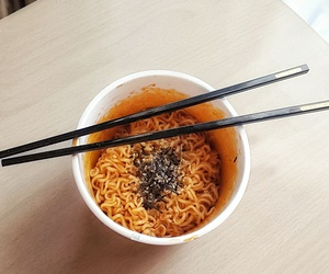 food, korean, and spicy image