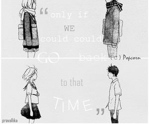 anime girl, couple, and futaba image
