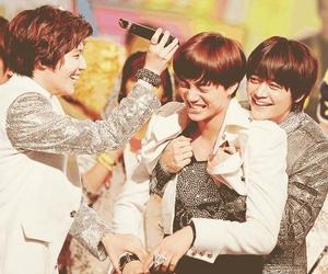 exo, Minho, and SHINee image