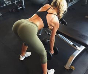 work out and squats image