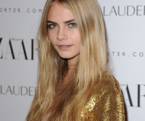 cara delevingne, model, and eyebrows image