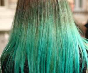 colours, turquoise, and dipdye image