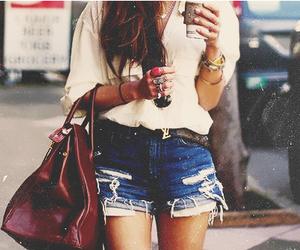 fashion, girl, and bag image