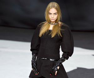 chanel, fashion, and cara delevingne image