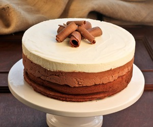cake, delicious, and desert image