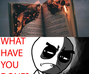 bad, books, and funny image