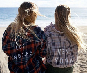 new york, beach, and los angeles image