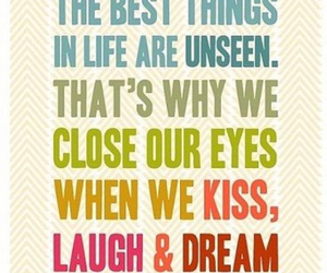 quotes, Dream, and kiss image