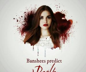 banshee, lydia, and teen wolf image