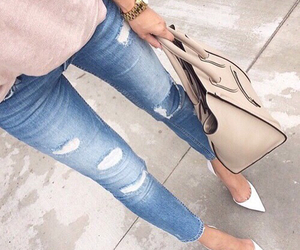 casual, heels, and clothes image
