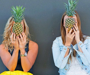 model, photography, and pineapple image