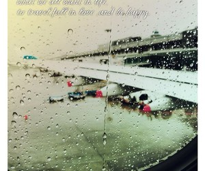 rain, text, and travel image