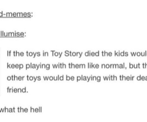 funny, toy story, and tumblr image