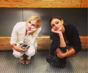 claire holt, phoebe tonkin, and The Originals image