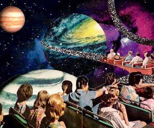 planets, people, and galaxy image