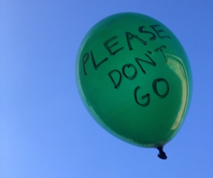 balloon, please, and love image