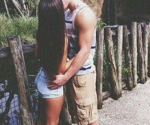 couple, cute, and goal image