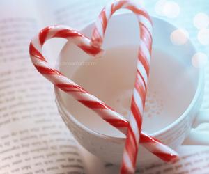 heart, book, and christmas image
