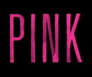 pink, wallpaper, and black image