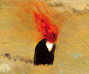 destruction, fire, and i image
