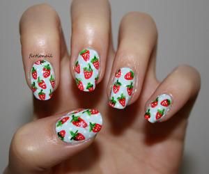elegant, fruit, and manicure image