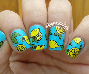 elegant, fruit, and lemons image