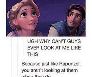aww, rapunzel, and look image