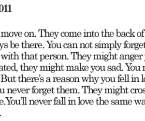 fall in love, feelings, and true image